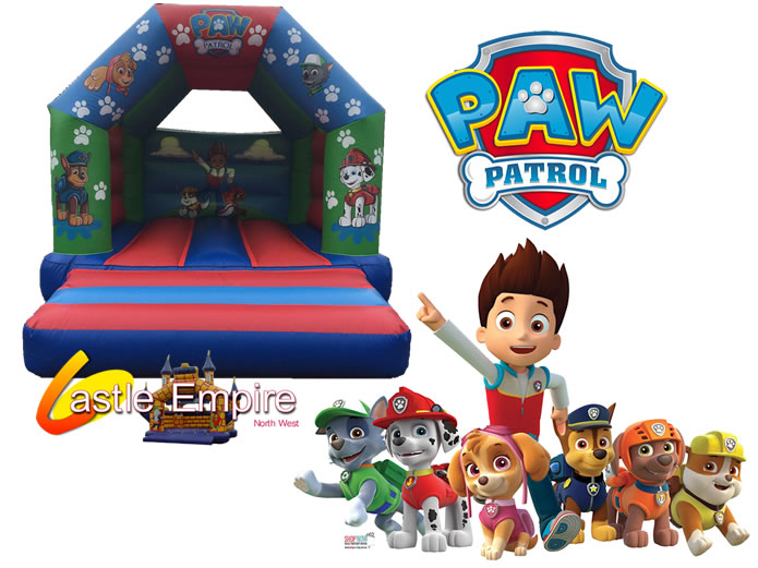 Paw Patrol Bouncy Castle Manchester