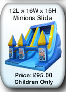 Bouncy Castle Hire Manchester - Minions Slide