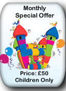 Bouncy Castle Hire Manchester - Special Offer