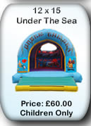 Bouncy Castle Hire Manchester - 12x15 Under The Sea