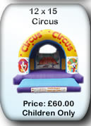 Bouncy Castle Hire Manchester - 12x14 Circus