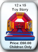 Bouncy Castle Hire Manchester - 12x15 Toy Story 3
