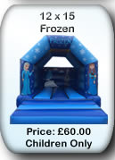 Bouncy Castle Hire Manchester - Frozen 12x14