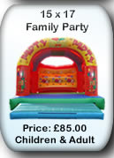 Bouncy Castle Hire Manchester - Adult Bouncy Castle 15x17