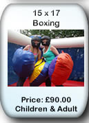 Bouncy Castle Hire Manchester - Bouncy Boxing 15x17