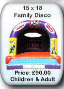 Bouncy Castle Hire Manchester - Adult Bouncy Castle 15x18