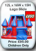 Lego Bouncy Castle Slide  - Manchester