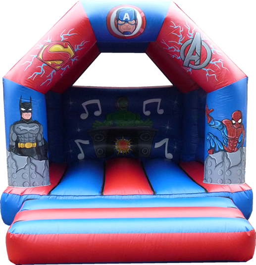 12 x 15 Spiderman Bouncy Castle