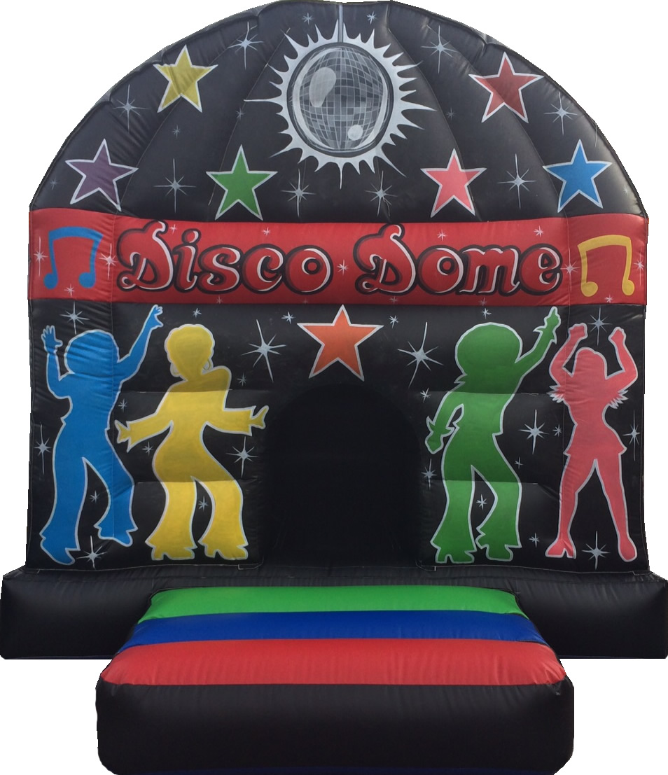 12 x 16 Disco Dome Red & Black