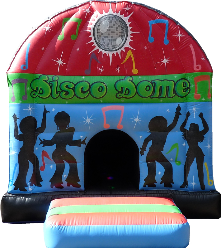 12 x 16 Disco Dome Blue & Red
