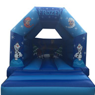 12 x 14 Disney Frozen Bouncy Castle �60