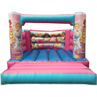 12 x 14 Princess Bouncy Castle (No Roof) �50.00