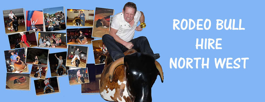 Rodeo Bull Hire in Manchestter, Wythenshawe and Stockport