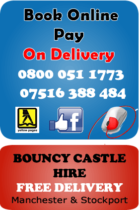 Bouncy Castles Hire Manchester , Stockport , Wythenshawe phone number