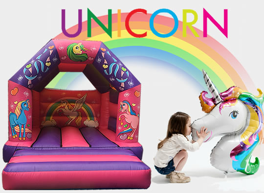 2019 Bouncy Castle Unicorn Manchester