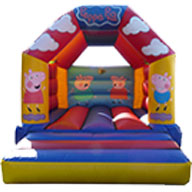 12 x 14 Children's Bouncer Peppa Pig        �60