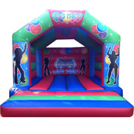15 X 17 Family Bouncer - Party Time (inc Adults) �85