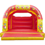 18 X 18 Family Bouncer - Balloon Theme (inc Adults) £110