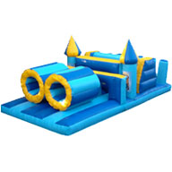 Minions Blue & Yellow Slide Obstacle Course £95