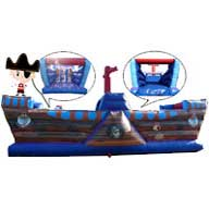32ft Pirate Deluxe Obstacle Course £110