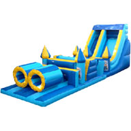Mega Minions Obstacle Course Blue & Yellow 40FT �179