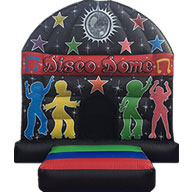 12 x 16 Children's Disco Dome Black/Red      £99.00