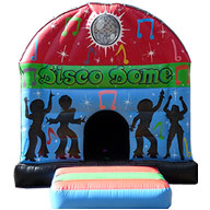12 x 16 Children's Disco Dome Blue/Red      £99.00
