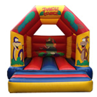 12 x 14 Children's Bouncer Jungle Theme £60