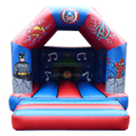 12 x 15 Children's Bouncer Superhero Avengers £60
