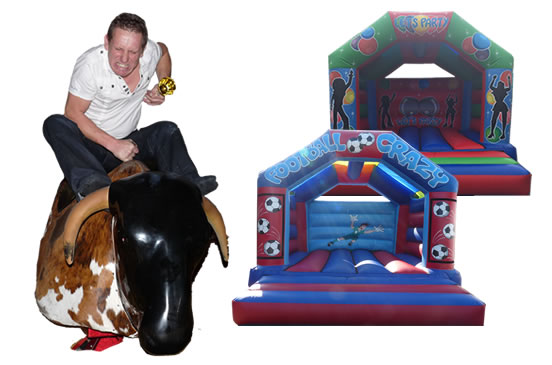 Bouncy Castle Manchester and Stockport Package C