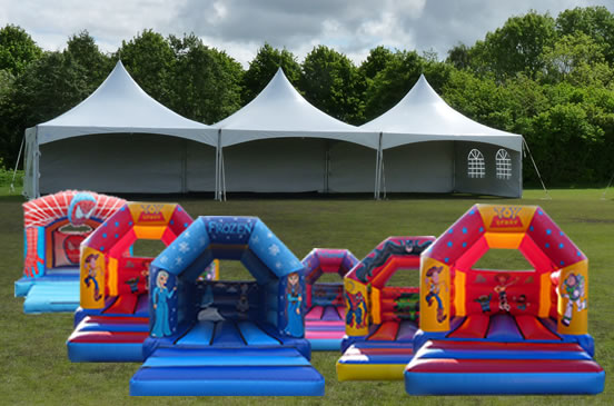 Bouncy Castle Manchester and Stockport Package D