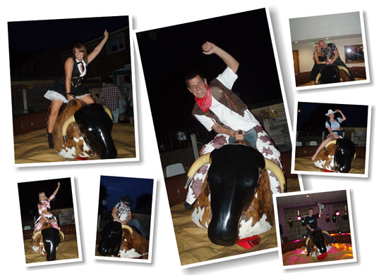 Rodeo Bull Hire Manchester and Stockport